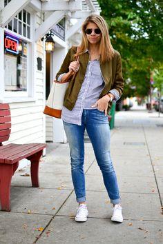 Bomber Jacket | Fishbowl Fashion