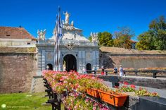 Cetatea de la Alba Iulia - Alba Iulia Fortress. The Blue Planet, Visit Romania, Bosnia, Albania, Eastern Europe, Montenegro, Croatia, Taj Mahal, Places To Visit