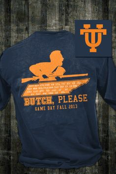 Game Day Tee for UT-K #Gameday #tennessee #universityoftennessee #utk