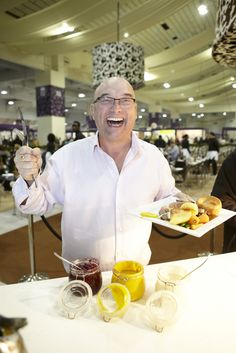 Gregg Wallace in his Gregg Wallace Carvery enjoying the food!!