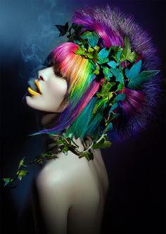 E que o que me leve seja alegre e colorido***