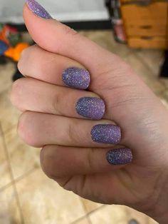 Nail Bling, Glittery Nails, Purple Nails, Nail Color Combos, Nail Colors, Manicure Ideas, Nail Ideas, Nail Polish Designs, Nail Designs