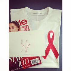 Ariel Foxman supporting #WorldAIDSDay