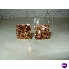 Beautiful Antique Copper Screw on Earrings With a Leaf Design 1940's-50's 7.8 Gr Listing in the 1950s-1970s,Antique & Vintage,Jewelry & Watches Category on eBid United States | 146000764