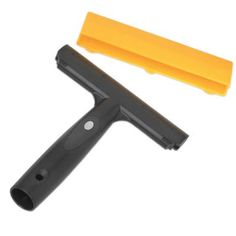 Ettore 1044 Pro Scraper: Window scraper perfect for removing paint, construction debris and other caked on deposits from glass. Ergonomic,rubberized comfort handle ensures good grip even when wet. Flooring Tools, Steel Paint, Sticker Removal, Household Cleaners, Wood Surface, Tool Organization, Window Cleaner, Good Grips, Cleaning Supplies
