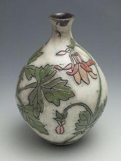 18 Best My RAku images | Pottery vase, Ceramic vase, Pottery ideas Gl Vase Joann on