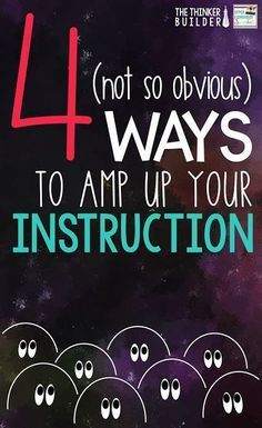 Check out these 4 (not so obvious) ways to give your instruction, especially your whole-group lessons, a boost! 5th Grade Teachers, New Teachers, Elementary Teacher, Upper Elementary, Elementary Schools, Instructional Strategies, Teaching Strategies, Teaching Tips, Teaching Reading