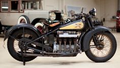 Video: Jay Leno's 1931 Henderson KJ Police Special – Vintage… – Motorcycle Ideas American Motorcycles, Cool Motorcycles, Vintage Motorcycles, Indian Motorcycles, Vintage Bikes, Vintage Cars, Vintage Stuff, Classic Bikes, Classic Cars