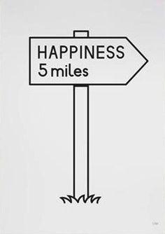 happiness 5 miles