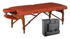 Master Massage 31 Santana LX Portable Massage Table Package Memory Foam Reiki Mountain Red >>> Visit the image link more details.