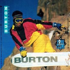 Name that grab. Craig Kelly on the cover of Board With the World video circa 1991. #burtonarchives #tbt #throwbackthursday | Photo: Rod Walker