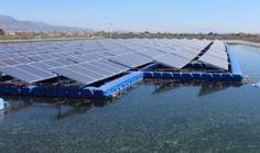 Fenacore recomienda el uso placas solares flotantes en balsas riego
