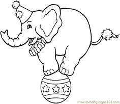 Clown Coloring Pages   free printable coloring page Circus Clowns Coloring Page 0001 (38 ...