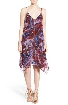 Ella Moss 'Celeste' Silk Trapeze Dress available at #Nordstrom