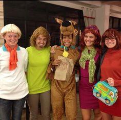 Scooby Doo group Halloween costume ideas DIY