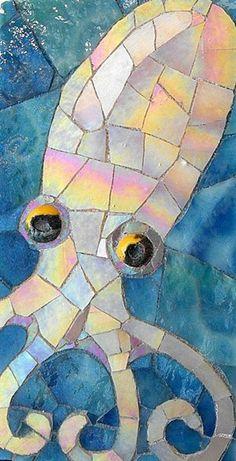 octopus © Eve Lynch, Kraken Mosaics