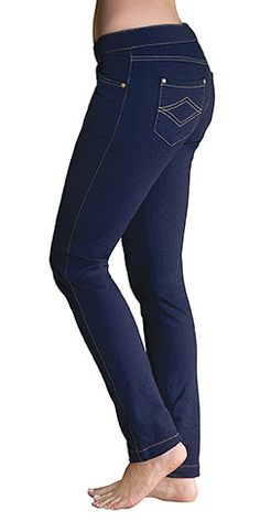 Jeans to sleep in. Skinny Indigo PajamaJeans are the best of both worlds. Great for travel or everyday wear, they combine the crisp denim look of your favorite jeans with the softness and comfort of your favorite PJs, so you can look s Chunky Girls, Nursing Tops, Yoga Pants, Indigo, Winter Fashion, Cool Outfits, Skinny Jeans, Denim, My Style