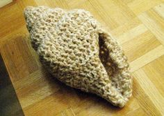PDF Pattern- Crochet Seashell