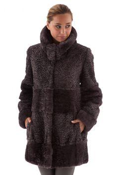 Manteau luxe fourrure rex marron, Balli, femme - 2433. Milène Avoine ·  Fourrure · 4 manteaux bien chauds avec fausse fourrure pour adoucir votre  hiver ... 7f5c874462b9