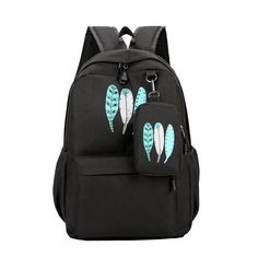 Casual women backpack schoolbag for girls teenagers back pack Simple Solid  nylon high school bags female bagpack Preppy Style fb3946d16b76d