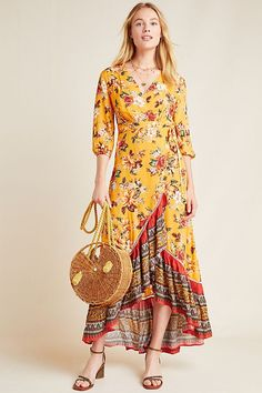 Farm Rio for Anthropologie Soigne Maxi Dress #floraldress #maxidress #fashion