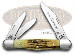 CASE XX Genuine Prime Stag Whittler Pocket Knife - CA58392 | 58392 - 021205583921