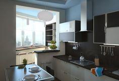 Дизайн квартир серии П-111м объединение кухни с балконом: 24 тыс изображений найдено в Яндекс.Картинках