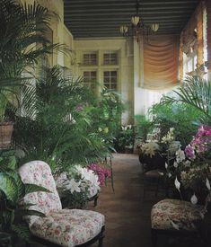 YSL-pierre berge-chateau gabriel-world of interiors-ivan terestchenko
