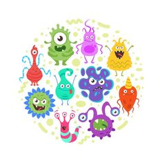 A microbe (or a microscopic organism) is a living thing too small to be seen with the naked eye. It is a term used to describe different organisms that live in, on and around the body which include bacteria, archaea, fungi, protists, viruses and microscopic animals.