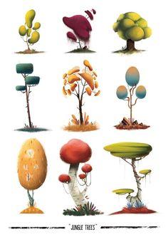 Mario Garcia Arevalo tree concept art