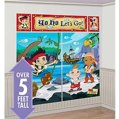 Jake and the Neverland Pirates Scene Setter | 1 ct