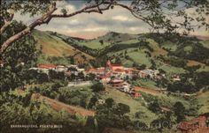Vintage Puerto Rico postcard - Barranquitas