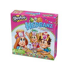 Shopkins Hedbanz Game by Cardinal, Multicolor