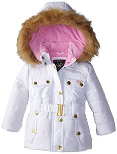 Monsoon Little Girls Blossom Butterfly Padded Coat Size 3-4 Years ...