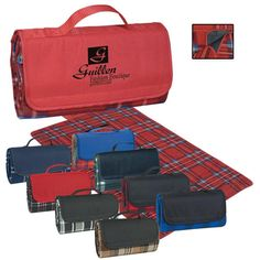 """Roll-up Picnic Blanket (52"""" x 47"""") 
