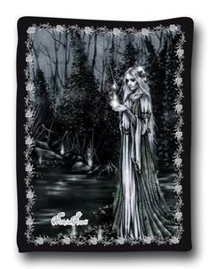 Victoria Frances - Fuego Fatuo Fleece Blanket