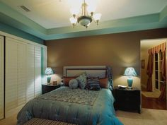Transitional Bedrooms in  from HGTV