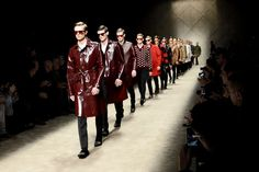 Burberry charms us delightfully with it's Men's Autumn-Winter 2013-14 collection! http://www.luxuryfacts.com/index.php/sections/article/3587