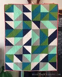 graphic triangles quilt - Google Search