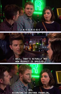 When he made us all realize that the spoken word pales in comparison to music. | 23 Times Andy Dwyer Was Secretly A Genius