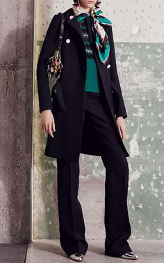 Belted Double Face Wool Coat by MARNI for Preorder on Moda Operandi