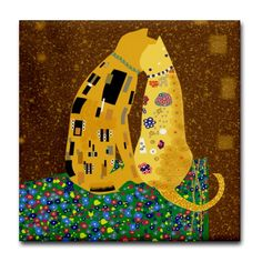 Quoted from: art_nouveau: Klimt-Cat;)