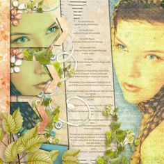 "A womans beauty ©Maree Mulreany 2012  Jimbo Jambo Designs blog challenge  Template from set I won..    Tender Spring Breeze Minikit by Doreen Stolz  ""Narrower_Template3"" by Jimbo Jambo Designs    Stock photo ©Dmitri MIkitenko"