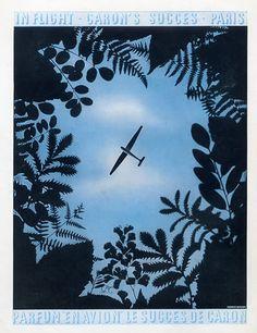 Caron (Perfumes) 1934 En Avion