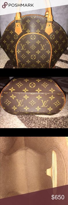 Louis Vuitton Eclipse EUC! Authentic vintage Amazing!!! My fav style def way better than the speedys and alma in MY opinion (I don't want no problems) lol just sayin its soooo adorable and sexy and feminine and posh and rare in Colorado at least shoot I've never seen anyone else here w one lol real talk Louis Vuitton Bags Satchels