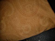 Ralph Lauren Doncaster Camel Paisley X-Deep King Fitted Sheet Light Brown Rare #RalphLauren #Traditional