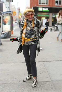 Super stylish lady