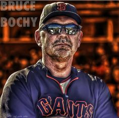 San Francisco Giants Manager Bruce Bochy.