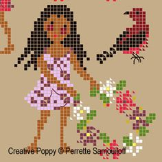 Thrilling Designing Your Own Cross Stitch Embroidery Patterns Ideas. Exhilarating Designing Your Own Cross Stitch Embroidery Patterns Ideas. Cross Stitch Bird, Cross Stitch Borders, Cross Stitch Charts, Cross Stitch Designs, Cross Stitching, Cross Stitch Patterns, Embroidery Online, Dmc Embroidery Floss, Cross Stitch Embroidery