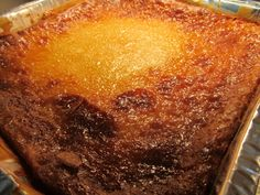 Cassava Cake made Mayettes Style. A very popular Menu Item and is usually ordered with every Catering Event. Toronto 416 463 03389